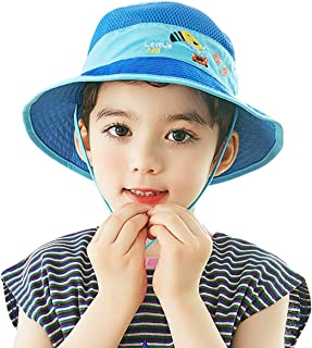 Fashion Cute Cartoon Kids Bucket Sun Hat Spring Summer Tourism Beach Outdoor Boys Girls Sunscreen Cap Cotton