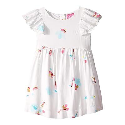 Joules Kids Emeline Dress (Toddler/Little Kids) (White Fairy Floral) Girl