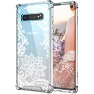 Cutebe Case for Galaxy S10,Shockproof Series Hard PC+ TPU Bumper Protective Case for Samsung...