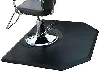 Rhino Mats CC45DH Comfort Craft Deluxe Salon Hexagon Mat, 4' Width x 5' Length x 3/4