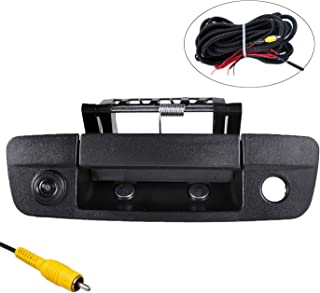 Omotor for Dodge Ram 1500 2009 2010 2011 2012 2014 2015 2016 2017 Black Tailgate Backup Reverse Handle with Camera