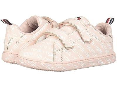 Tommy Hilfiger Kids Iconic Court Logo ALT (Toddler) (Light Pink/White) Kid