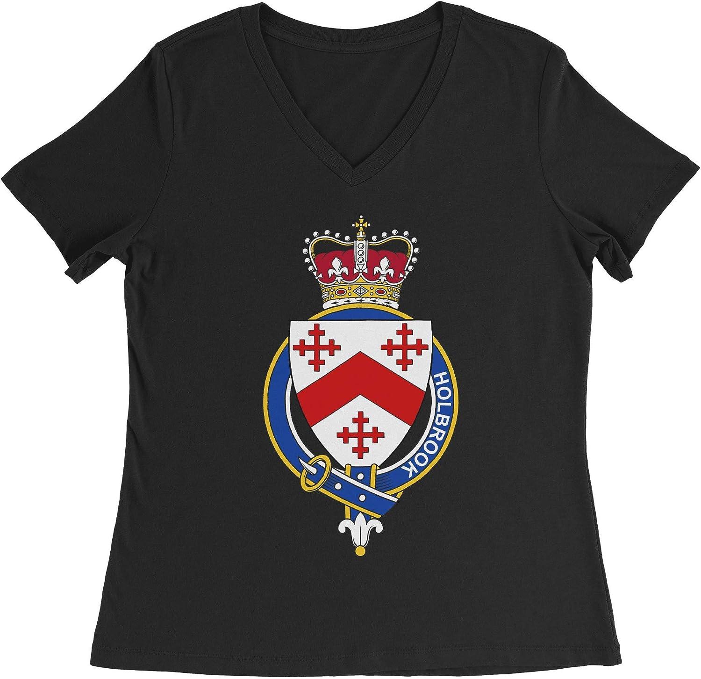 HARD EDGE DESIGN Women's English Garter Family Holbrook T-Shirt