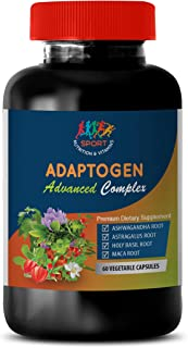 Stress and Immune Support - ADAPTOGEN Advanced Complex - ashwagandha Stress and Mood - 1B (60 Capsules)