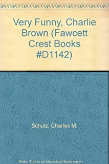 Very Funny, Charlie Brown (Fawcett Crest Books #D1142)