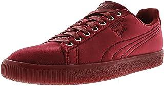 PUMA Men's Clyde Velour Ice Ankle-High Velvet Fashion Sneaker US