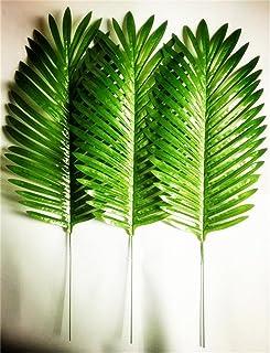 ヤシの木アレカヤシ人工観葉植物 緑 家庭やパーティ飾り、全長64cm 10個セット (緑) [並行輸入品]