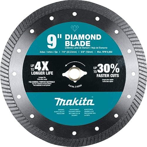 "popular Makita E-02559 9"" outlet sale Diamond Blade, Turbo, online sale General Purpose outlet sale"