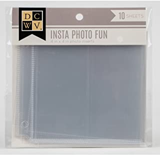 Die Cuts with A View Insta Fun Extra-2 x 4-Page Protectors (10 pcs) CP-002-01040