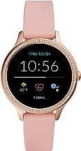 ساعت هوشمند صفحه لمسی فولاد ضد زنگ جدید Fossil Women 5e 42mm با بلندگو ، ضربان قلب ، GPS ، NFC و اعلان های گوشی هوشمند