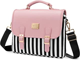 Computer Bag Laptop Bag for Women Cute Laptop Sleeve Case for Work College, Slim-Pink, 13.3-Inch