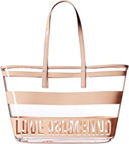 LOVE Moschino Transparent Tote