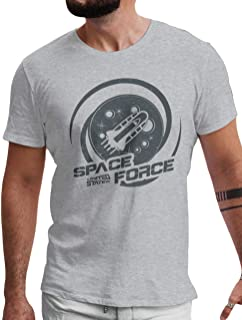 LeRage United States Space Force USSF Make The Galaxy Great Again Shirt Men's