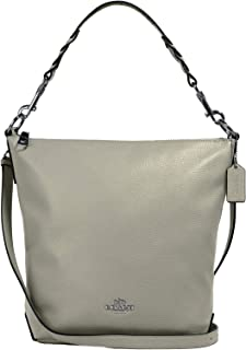COACH Abby Leather Duffle Purse - #31507 - Pale Green