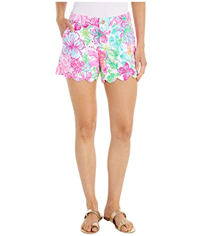 Lilly Pulitzer Buttercup Stretch Shorts (Multi Paradise Found) Women