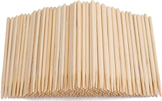 Yesland 1000 Pack Candy Apple Sticks - 5.5 Inch Sturdy Bamboo Sticks for Caramel - Wooden Skewer Sticks for BBQ, Corn Dog,...