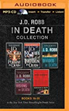 J. D. Robb In Death Collection Books 16-20: Portrait in Death, Imitation in Death, Divided in Death, Visions in Death, Sur...