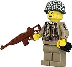 Modern Brick Warfare US Army American WW2 101st Airborne Ranger Soldier Custom Minifigure