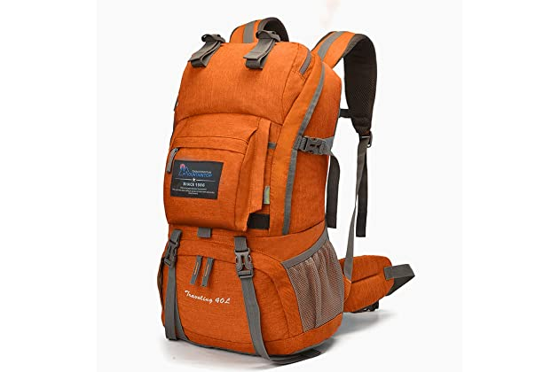 MOUNTAINTOP 40L Hiking Backpack for Outdoor Camping f6552d0bacec4