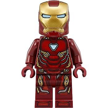 LEGO NEW DARK RED SUPER HERO IRON MAN LEGS MINIFIGURE PANTS