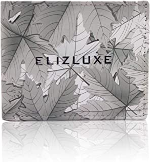 Eliz Luxe Wallet for Men - Printed Bifold Stylish Wallet with ID Window - Unique Design