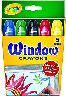 Crayola 繪兒樂 5色櫥窗玻璃裝飾畫蠟筆 52-9765