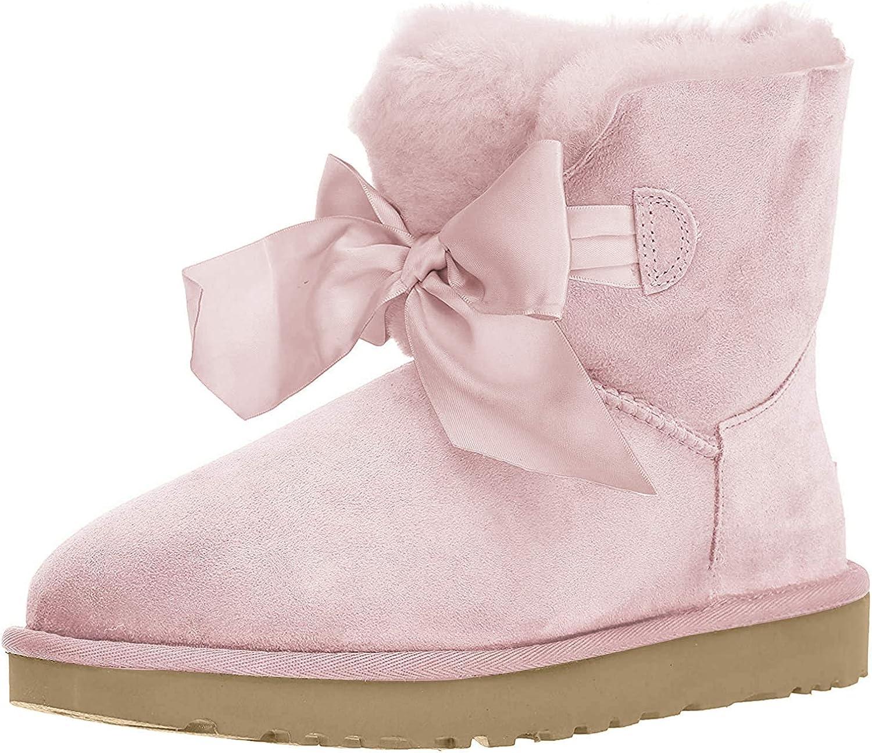 W Gita Bow Mini Fashion Boot