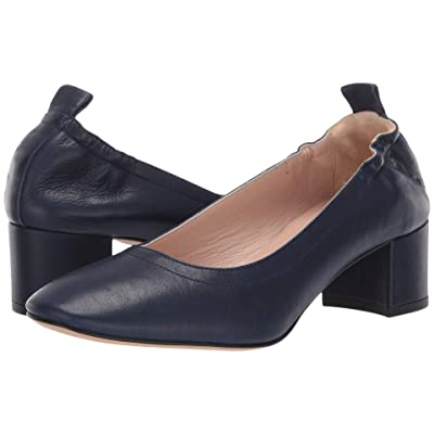 Summit by White Mountain Vittoria Heel (Navy Leather) Women