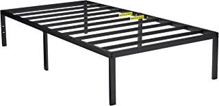 Zinus 14 Inch Classic Metal Platform Bed with Steel Slat Support / Mattress Foundation, Twin