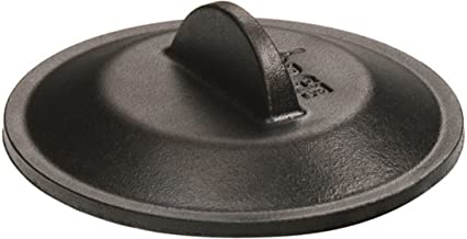 Lodge Cookware Cover, Cast Iron, 5 inch, Black