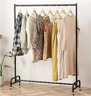 MissZZ Porte-vêtements Porte-vêtements en métal Moderne sur Roues, Porte-vêtements d'affichage au détail, Porte-Manteau à ...