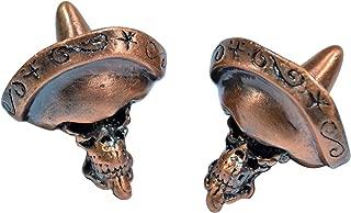 The Sanchez Paracord Skull Bead Twin Pack (Antique Copper)