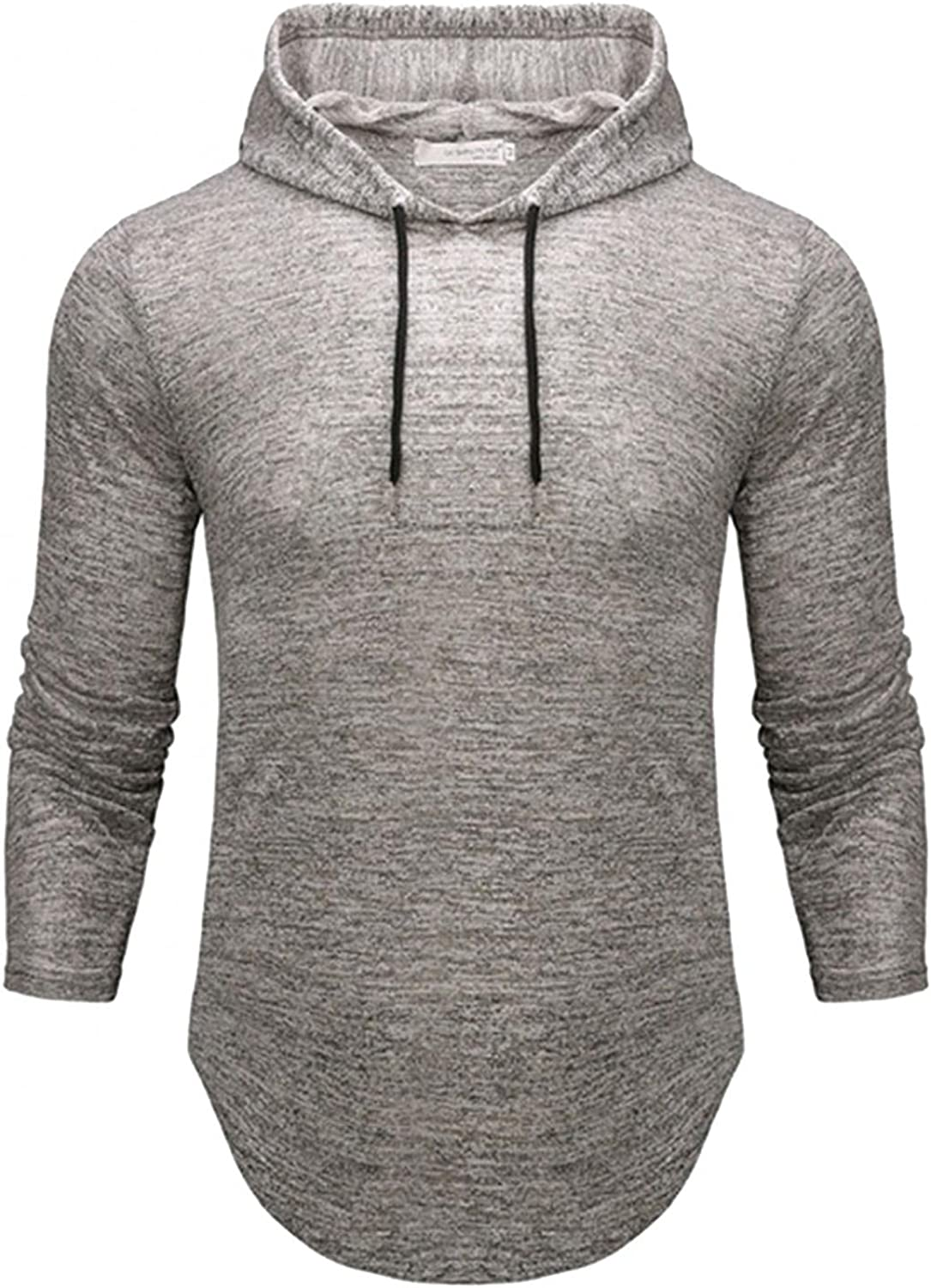 Hoodies for Men Men's Fashion Solid Color Top Hooded Casual Long Sleeve Drawstring Fashion Sweatshirt And Hoodies Blouses