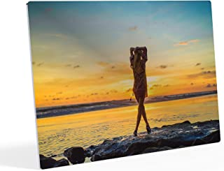 HB Art Design Custom Photo Print Modern Personalized Photo to Metal Print Glossy Vibrant Colors on Aluminium Sheets Customize Your own Picture Personalized Gift Wall Art Ready to Hang - 8