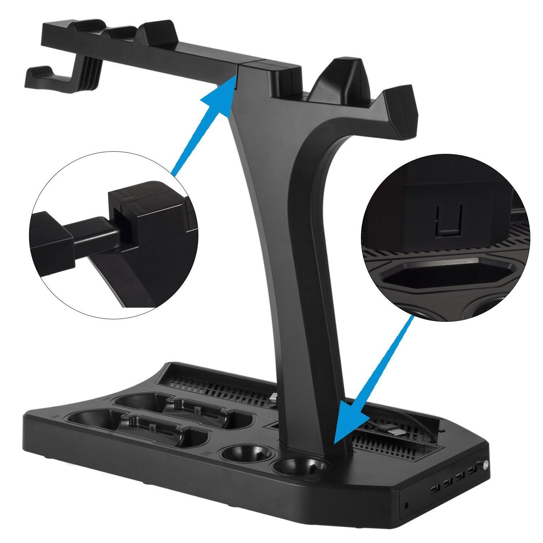 DACCKIT Soporte Vertical de Carga y visualización para Playstation ...