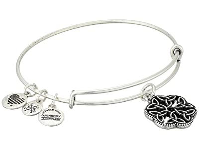 Alex and Ani Path of Symbols Endless Knot III Bangle (Rafaelian Silver) Bracelet