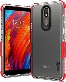 CoverON Collider Series for LG Aristo 4 Plus Case/LG Prime 2 Case Red H884-CO-LGARISTO4PLUS-HY39-RD