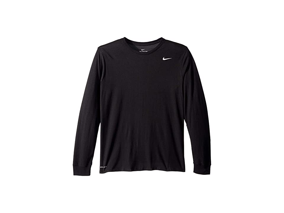 Nike Dry Training Long Sleeve T-Shirt (Black/Anthracite/Heather) Men
