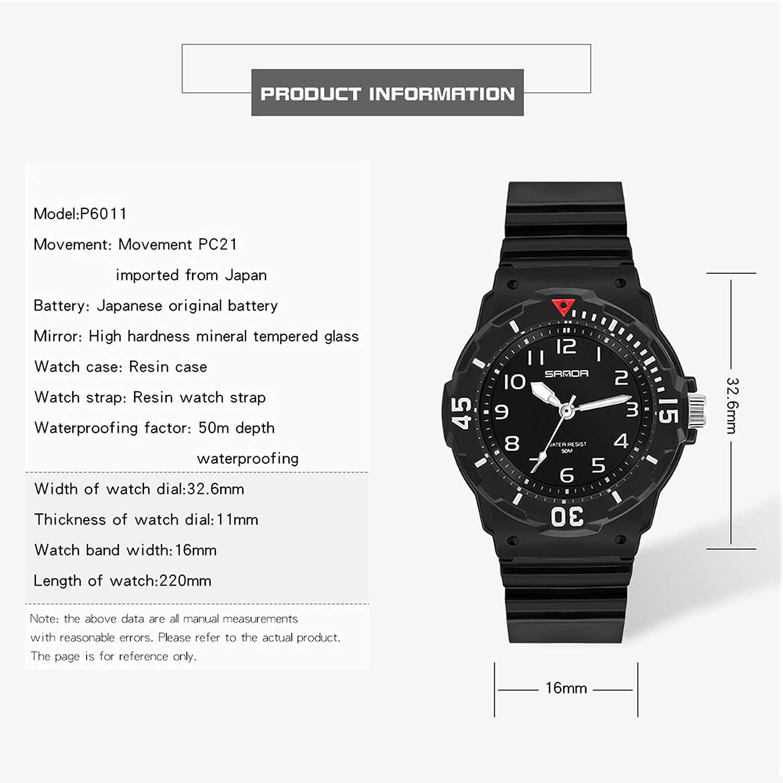 Womens Watch Sport Waterproof Watches Nurse Minimalist Simple Analog Watch Casual Ladies Watch Rose Gold Pink