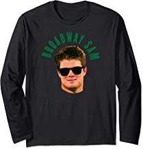 Broadway Sam Darnold Jets Namath Homage Long Sleeve T-Shirt
