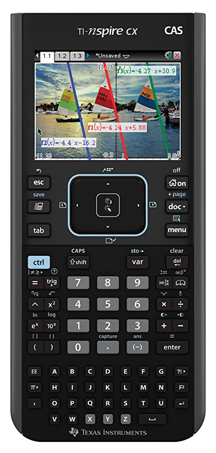 アライアンスドキュメンタリー挽くTexas Instruments Nspire CX CAS Graphing Calculator by Texas Instruments