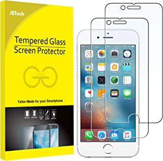 JETech Screen Protector for iPhone 6 Plus and iPhone 6s Plus, 5.5-Inch, Tempered Glass Film, 2-Pack