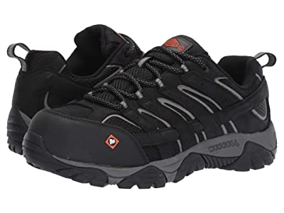 Merrell Work Moab Vertex Vent Composite Toe (Black) Men