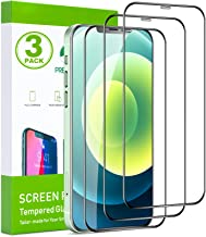 FILUV Compatible with iPhone 12 Screen Protector, iPhone 12 Pro Screen Protector, Full Coverage Premium Clarity For iPhone...