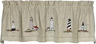 Best lighthouse bathroom window curtains Reviews
