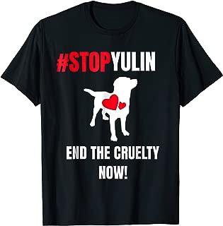 stop yulin t shirt