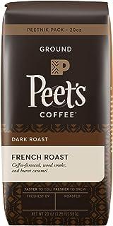 Peet's Coffee French Roast, Dark Roast Ground Coffee, 20 oz
