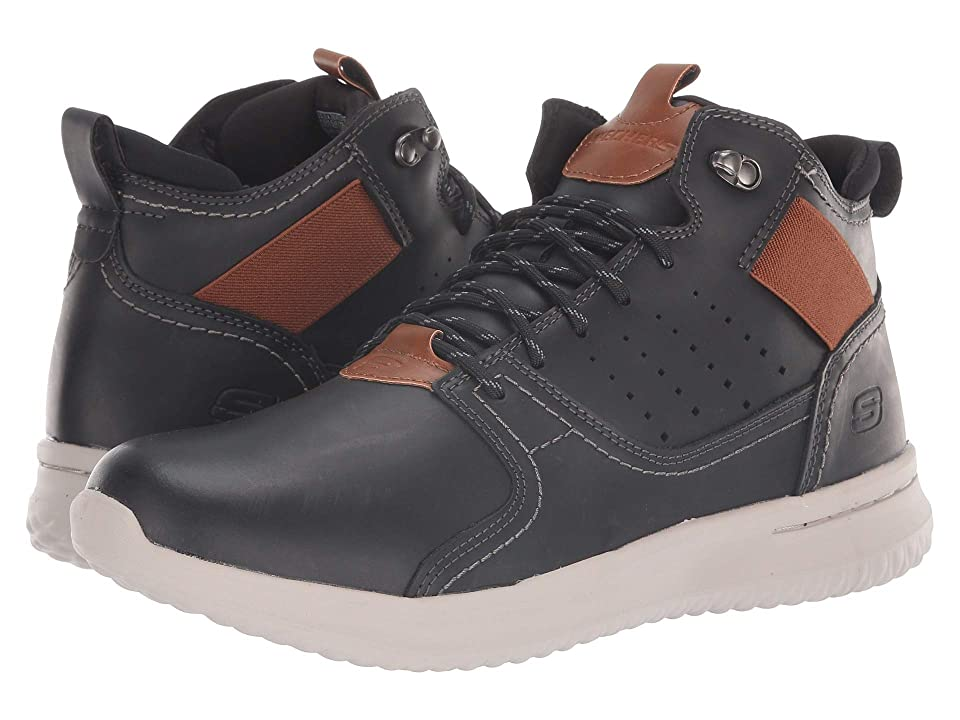 SKECHERS Delson Venego (Black) Men
