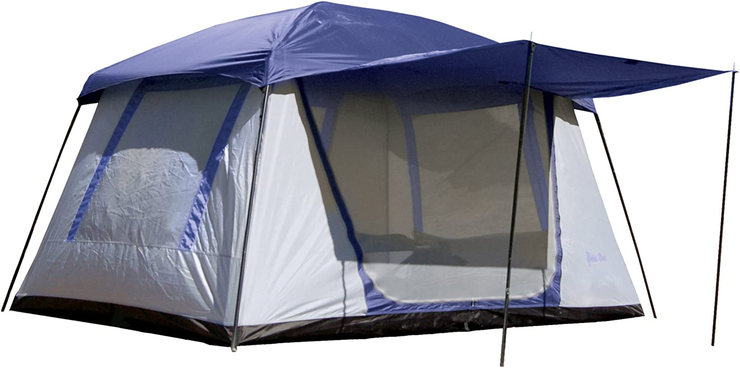 PahaQue Wilderness Green Mountain 5XD Tent, Grey blueee
