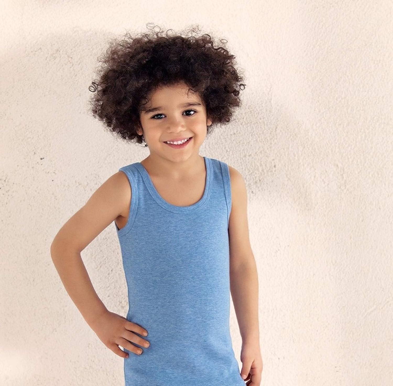 Brix Toddler Boys Tank Tops – 4-Pack Cotton Shirts Comfort Toddler Clothes.